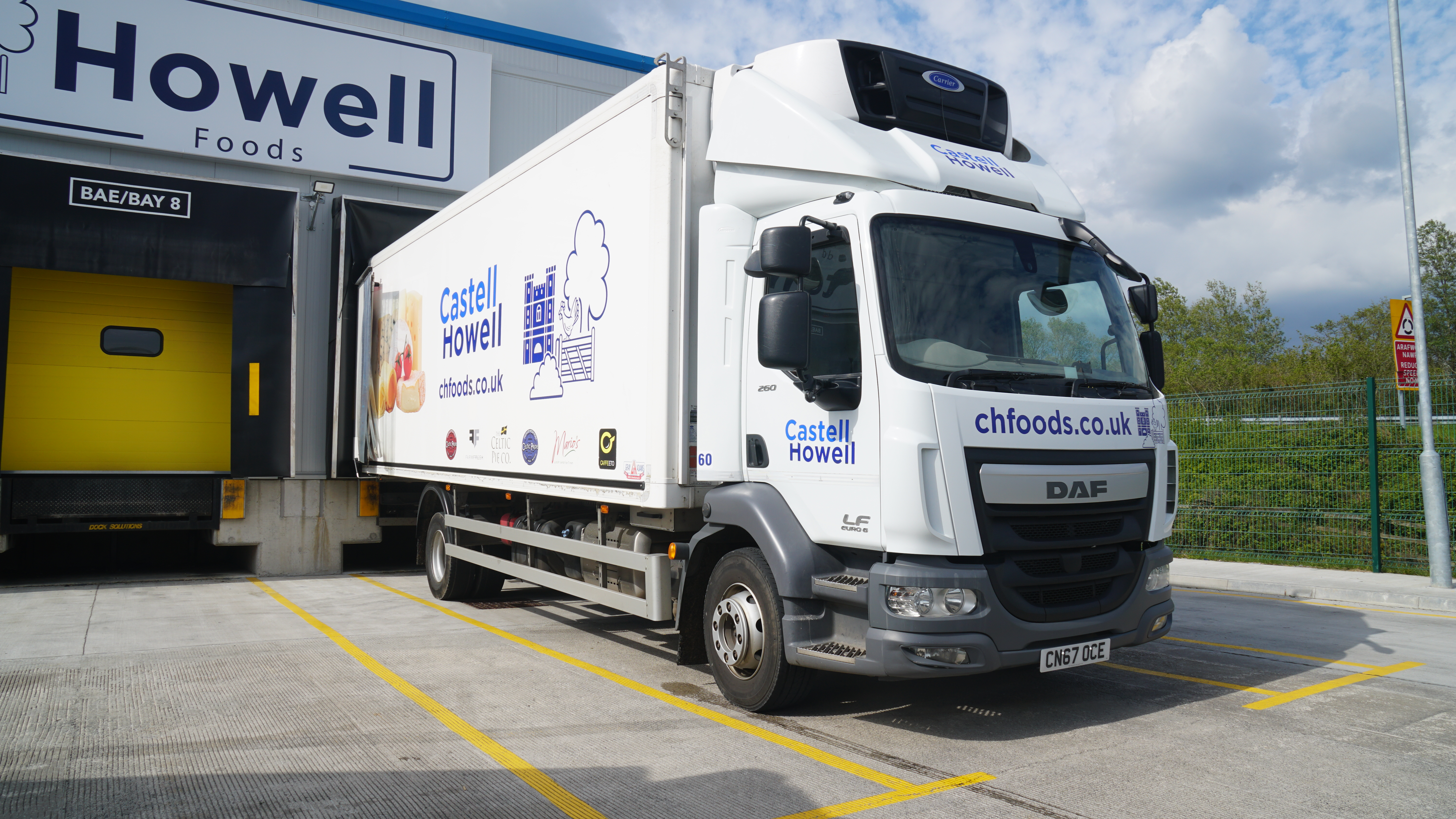 Connexas Group provides platform for food wholesaler's entire fleet
